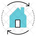 Home Swap Exchange Icon