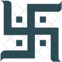 Swastika Hinduism Prosperity Sign Icon