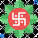 Swastikam Swastika Rangoli Icon