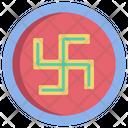 Swasthikswastika Hinduism Religion Icon