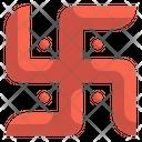 Swastika Hinduism Religion Icon