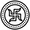 Swastika Hinduism Belief Icon