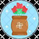 Kalasha Puja Swastika Plant Puja Plant Icon