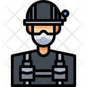 Swat Spacial Officer Soldier Icon