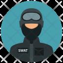 Swat Mask Man Icon