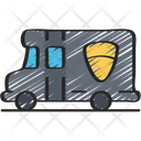 Swat Van Vehicles Policing Icon