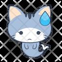 Sad Tired Unhappy Icon