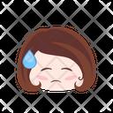 Worry Sad Unhappy Icon