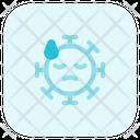 Sweat Coronavirus Emoji Coronavirus Icon