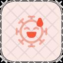 Sweat Smile Icon