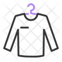 Sweater Clothes Hangers Icon