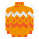 Cardigan Clothes Pullover Icon
