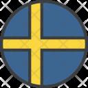 Sweden Swede Swedish Icon