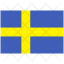 Flag Country Sweden Icon