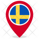 Sweden Country National Icon