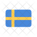 Sweden Flag Country Icon