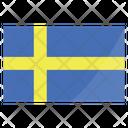 Sweden Nation Global Icon