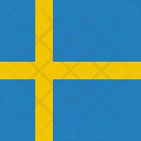 Sweden Flag World Icon