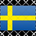Sweden Flag Nation Icon