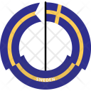 Sweden Country Flag Icon