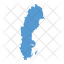Sweden Map Icon