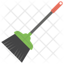 Broom Sweep Cleaning Tool Icon