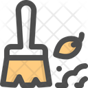 Sweep Clean Cleaning Icon