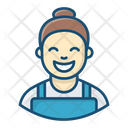 Housemaid Housekeeper Sweeper Icon