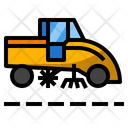 Cleaner Street Sweeper Icon