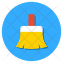 Dust Sweeping Brush Cleaning Brush Icon