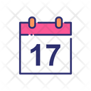 Sweet Calendar Birthday Date Icon