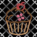Sweet Birthday Cake Icon