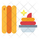 Sweet Food Churros Icon