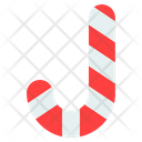 Sweet Candy Candy Cane Icon