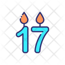 Sweet Candle Icon