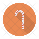 Sweet Candy Cane Icon