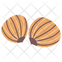 Sweet Chestnut Dried Fruit Nutrients Icon