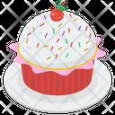 Sweet Cupcake Food Icon