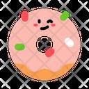 Sweet Glazed Donut Donut Glazed Icon