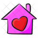Sweet Home Favorite House Love Home Icon