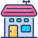 Sweet Home House Building Icon
