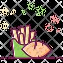 Sweet Potato Chips Icon