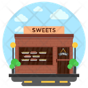 Sweet Shop Bakery Bakery Store Icon