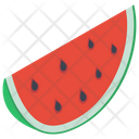Sweet Watermelon Slice Watermelon Fruit Icon