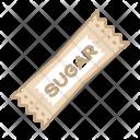Sweetener Sugar Pack Icon