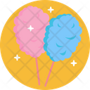 Sweet Candy Cotton Candy Icon