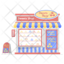 Sweets Shop Bakery Bake Shop Icon