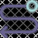 Swerve Left Icon