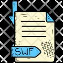 Swf Document Format Icon