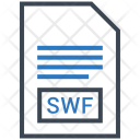 Swf Document File Icon